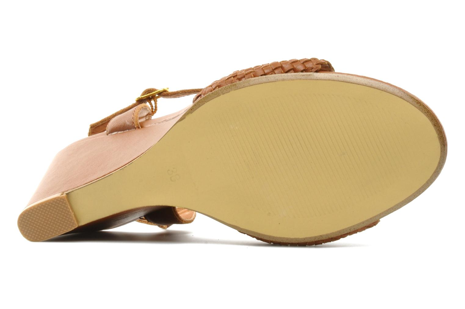 Flore Camel leather