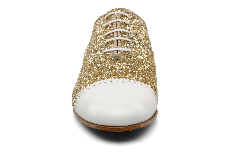 Chaussures à lacets Georgia Rose Pantika Or et bronze vue portées chaussures