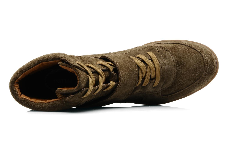 Stiefeletten & Boots Addict-Initial Alida braun ansicht von links