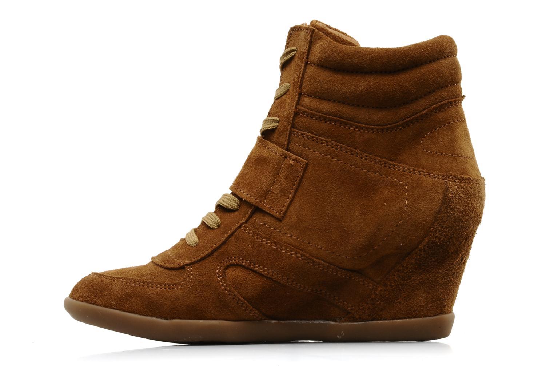 Bottines et boots Addict-Initial Alida Marron vue face