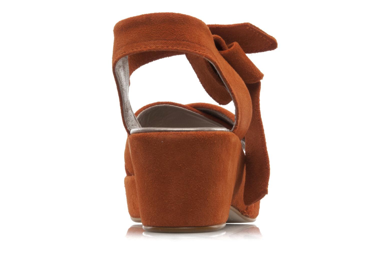 Sandali e scarpe aperte Addict-Initial Ariana Arancione immagine destra
