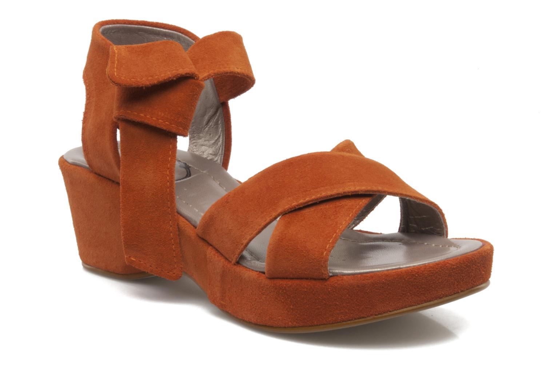Sandali e scarpe aperte Addict-Initial Ariana Arancione vedi dettaglio/paio
