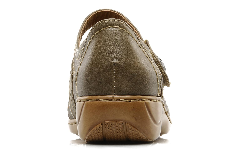 Ballerina's I Love Shoes Similio Groen rechts