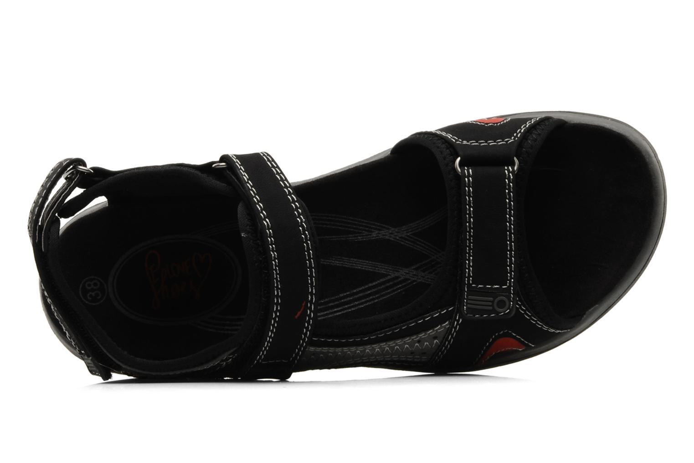 Scarpe sportive I Love Shoes Serceto Nero immagine sinistra