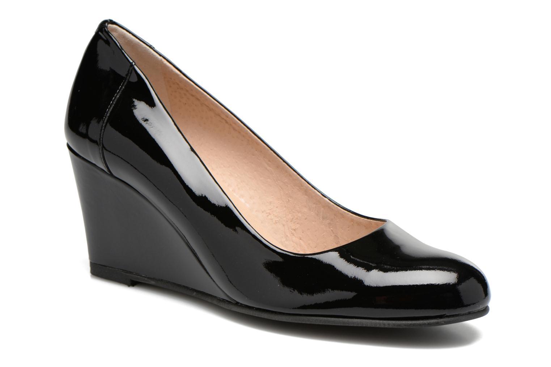 Høje hæle Georgia Rose Lorena Sort detaljeret billede af skoene