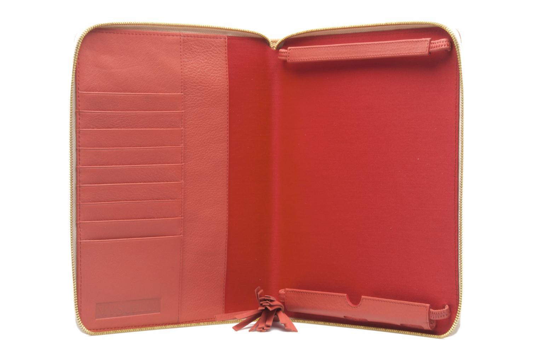 Kleine lederwaren MySuelly LOU PAD (IPAD) Roze achterkant