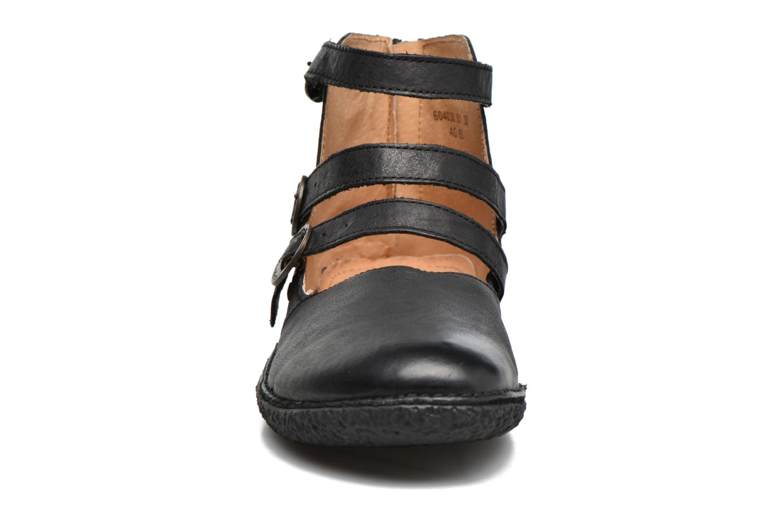 Ballerines Kickers HONORINE Noir vue portées chaussures