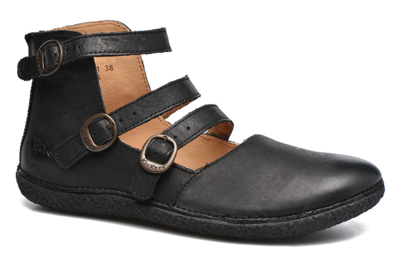 Los zapatos más populares para hombres y mujeres Kickers HONORINE (Negro) - Bailarinas en Más cómodo