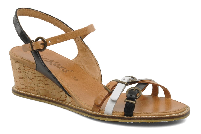 Sandales et nu-pieds Kickers SPRING 2 Noir vue détail/paire