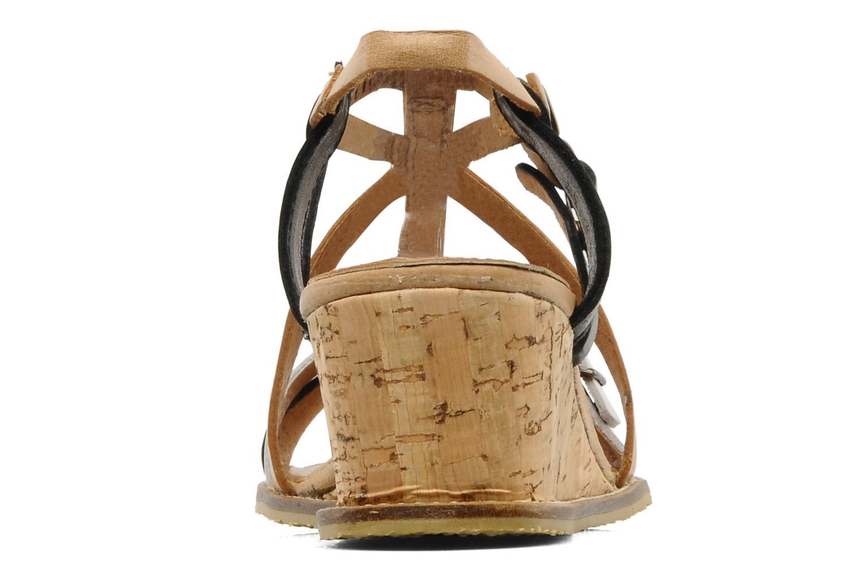 Sandales et nu-pieds Kickers SUBMARINE Noir vue droite
