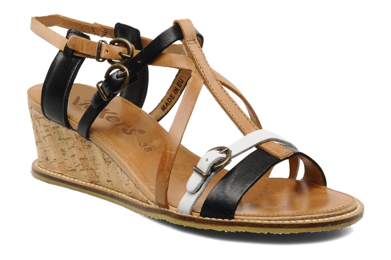 Sandales et nu-pieds Kickers SUBMARINE Noir vue détail/paire