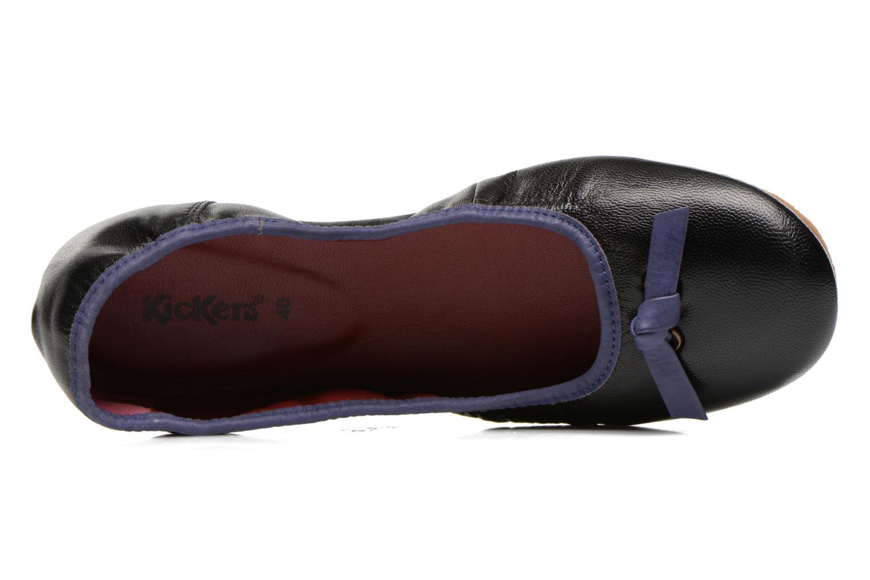 Ballerina's Kickers Liberta Zwart links