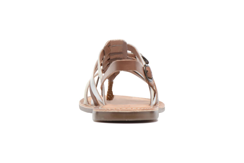 Sandales et nu-pieds Kickers Dixmille Marron vue droite