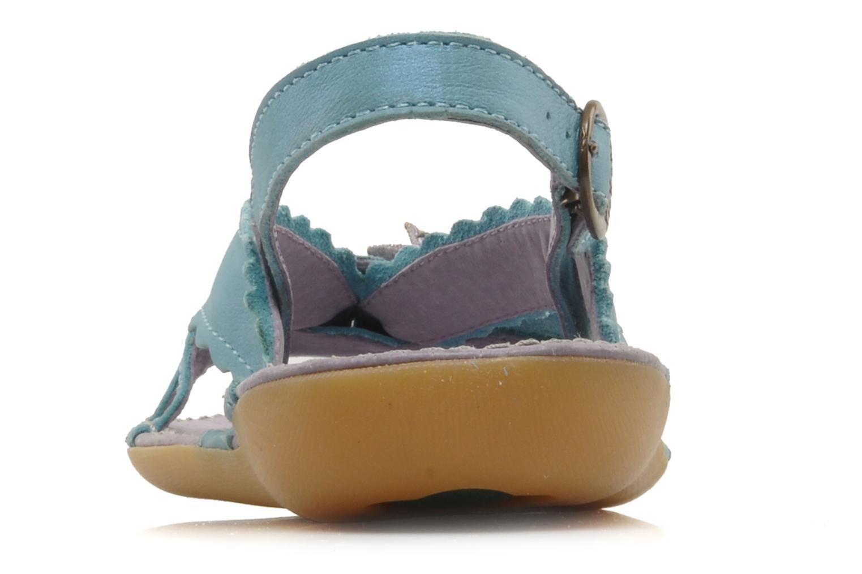 Sandalen Kickers EXTRAFIN Blauw rechts