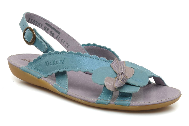 Sandalen Kickers EXTRAFIN Blauw detail