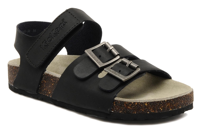 Sandales et nu-pieds Kickers MAGINATION Noir vue détail/paire