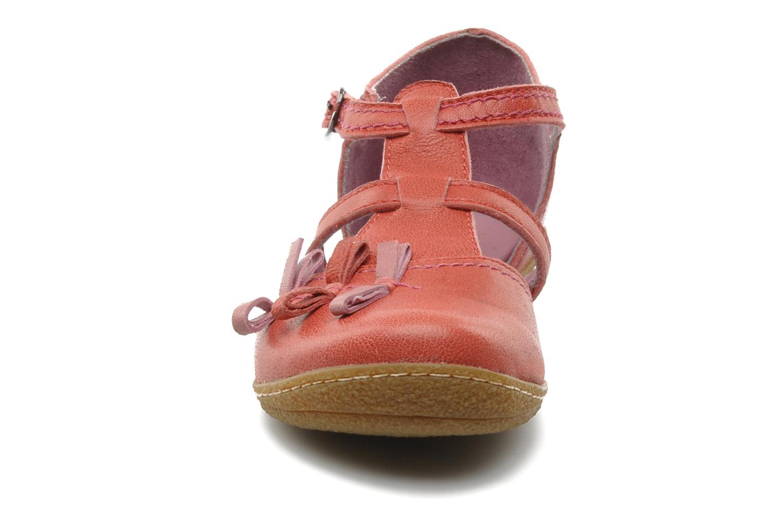 Sandales et nu-pieds Kickers CYCLINE 2 Rouge vue portées chaussures