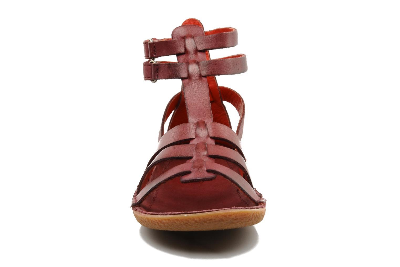 Sandales et nu-pieds Kickers PEPLUM V Violet vue portées chaussures