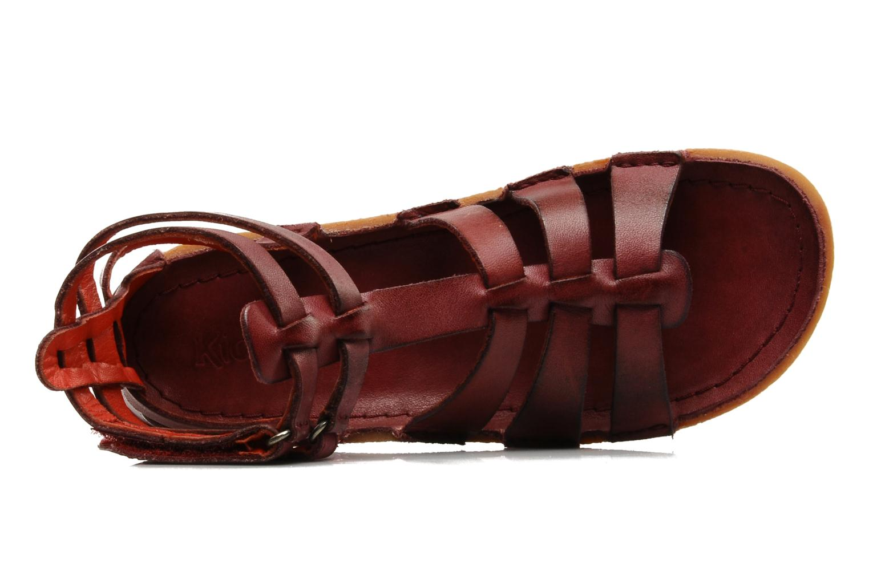 Sandales et nu-pieds Kickers PEPLUM V Violet vue gauche