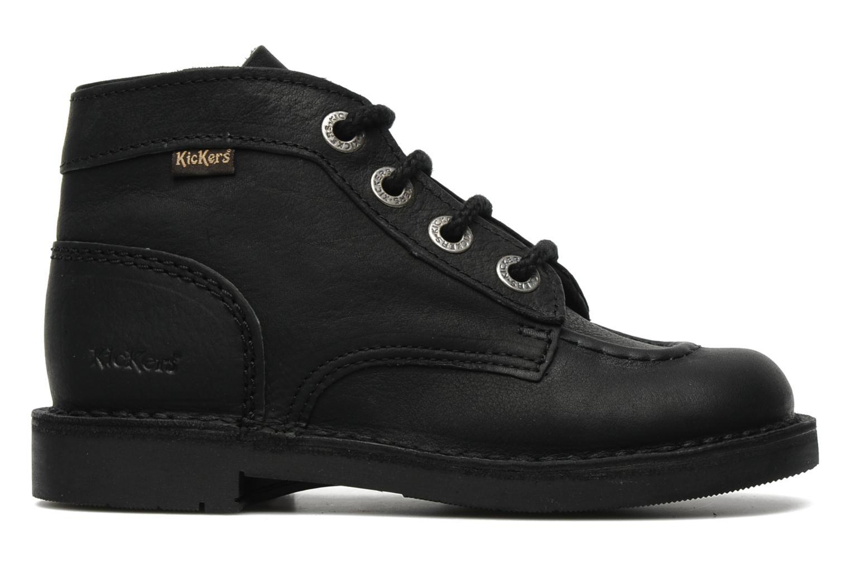 Chaussures à lacets Kickers Kick Col Perm Noir vue derrière