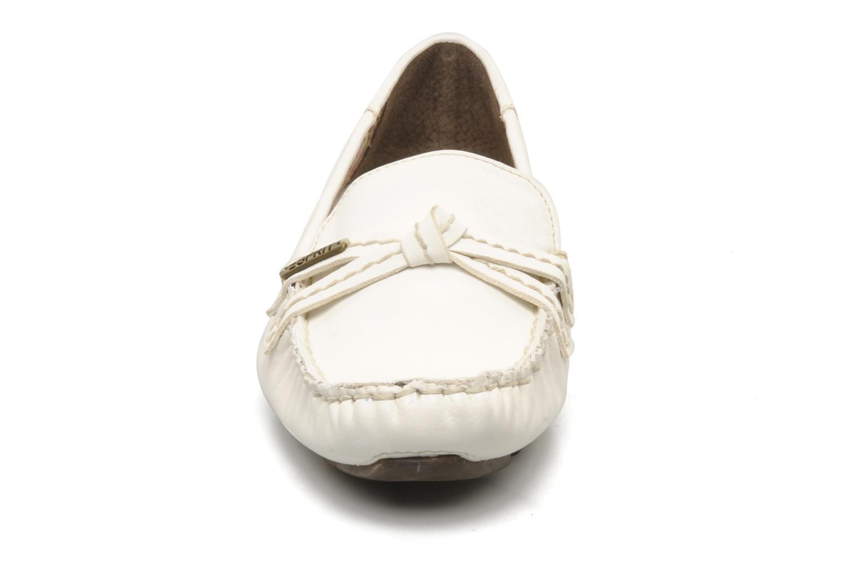 Mocassini Esprit Barabara Loafer Bianco modello indossato