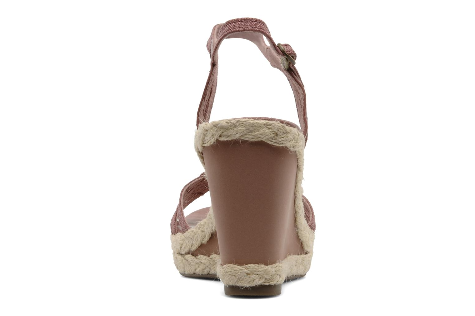 Anna Buckle Sandal Ancient Pink