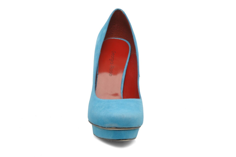 High heels Georgia Rose Giselle Blue model view