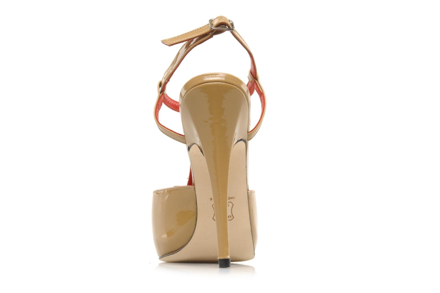 Sandals Georgia Rose Gloria Beige view from the right