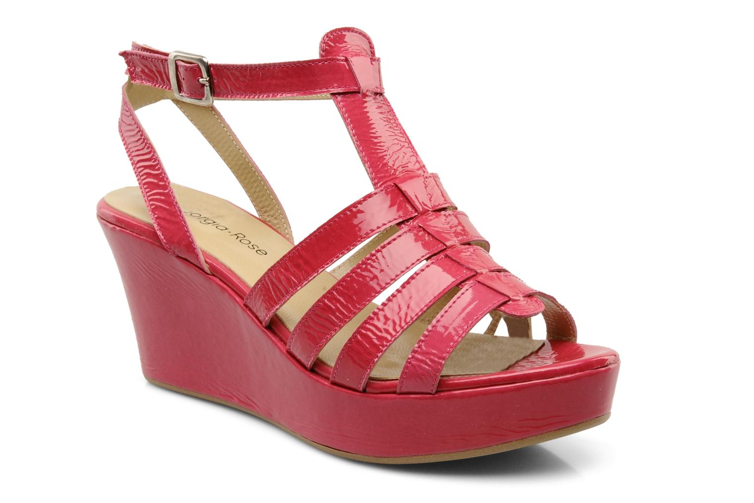 Sandals Georgia Rose Voria Pink detailed view/ Pair view