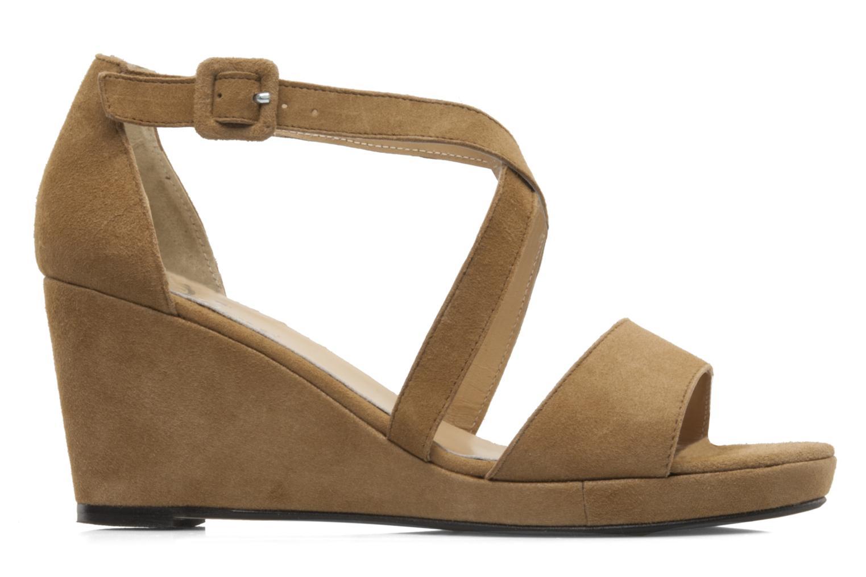 Sandales et nu-pieds Valensi Vira Beige vue derrière