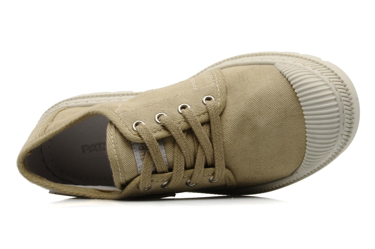 Trainers Pataugas Raid E Beige view from the left