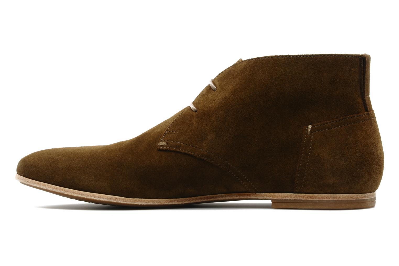 Chaussures à lacets Geox U progress A Marron vue face