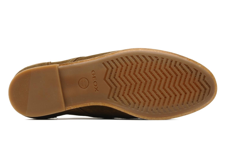 Chaussures à lacets Geox U progress A Marron vue haut