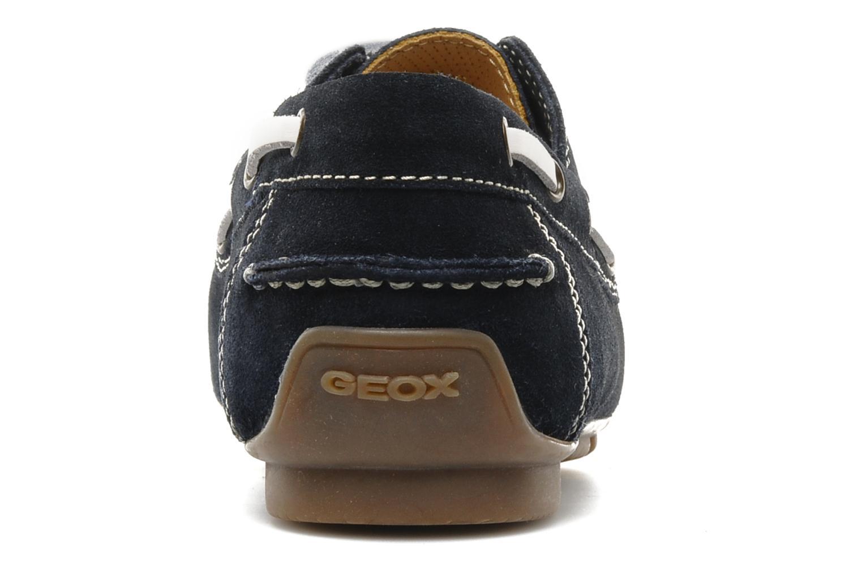 Chaussures à lacets Geox U lux B Bleu vue droite