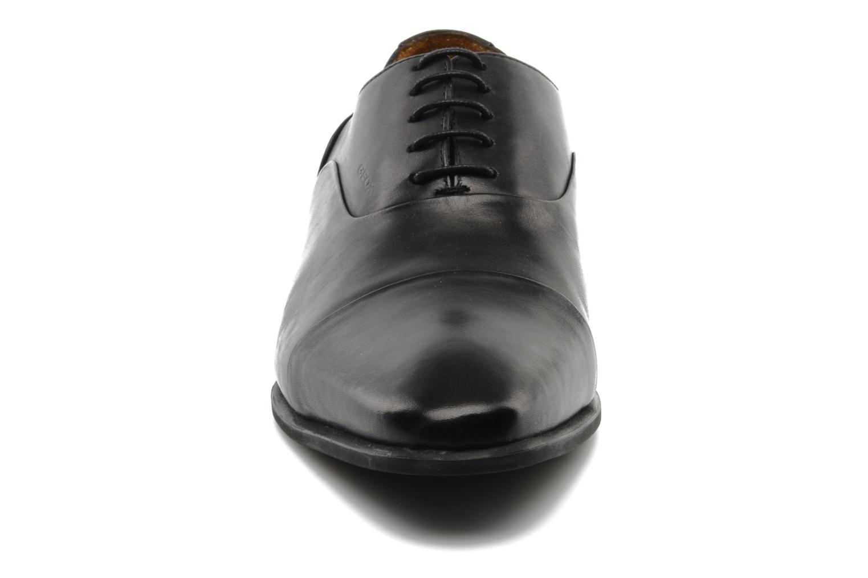 Chaussures à lacets Geox U hight life Q Noir vue portées chaussures
