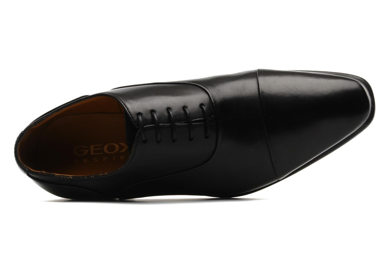 Chaussures à lacets Geox U hight life Q Noir vue gauche