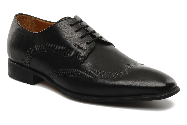 Chaussures à lacets Geox U hight life T Noir vue détail/paire