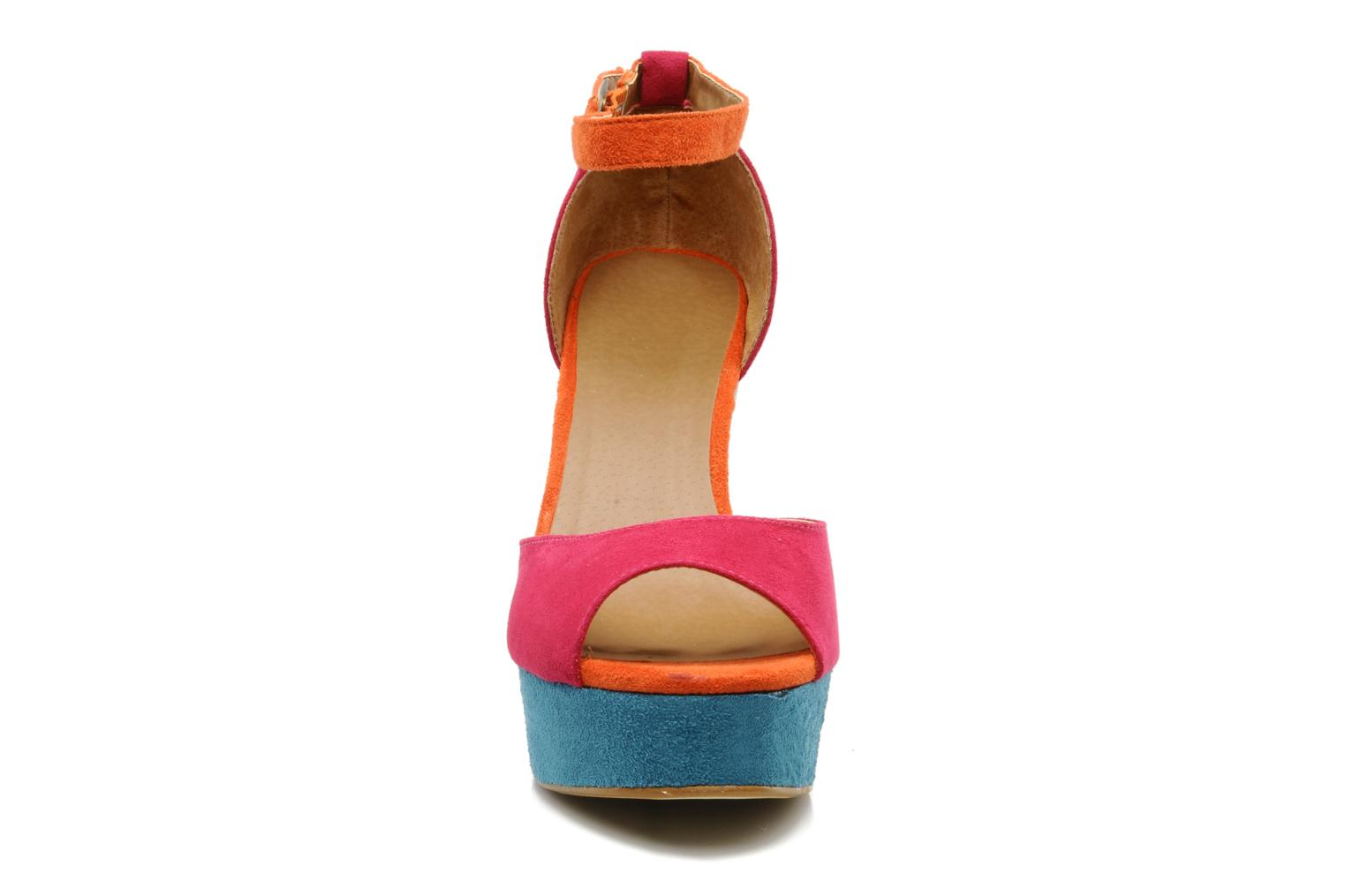 Sandals I Love Shoes Pacey Pink model view