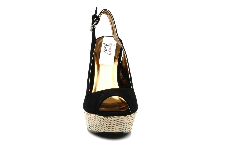 Sandalen I Love Shoes Leia schwarz schuhe getragen