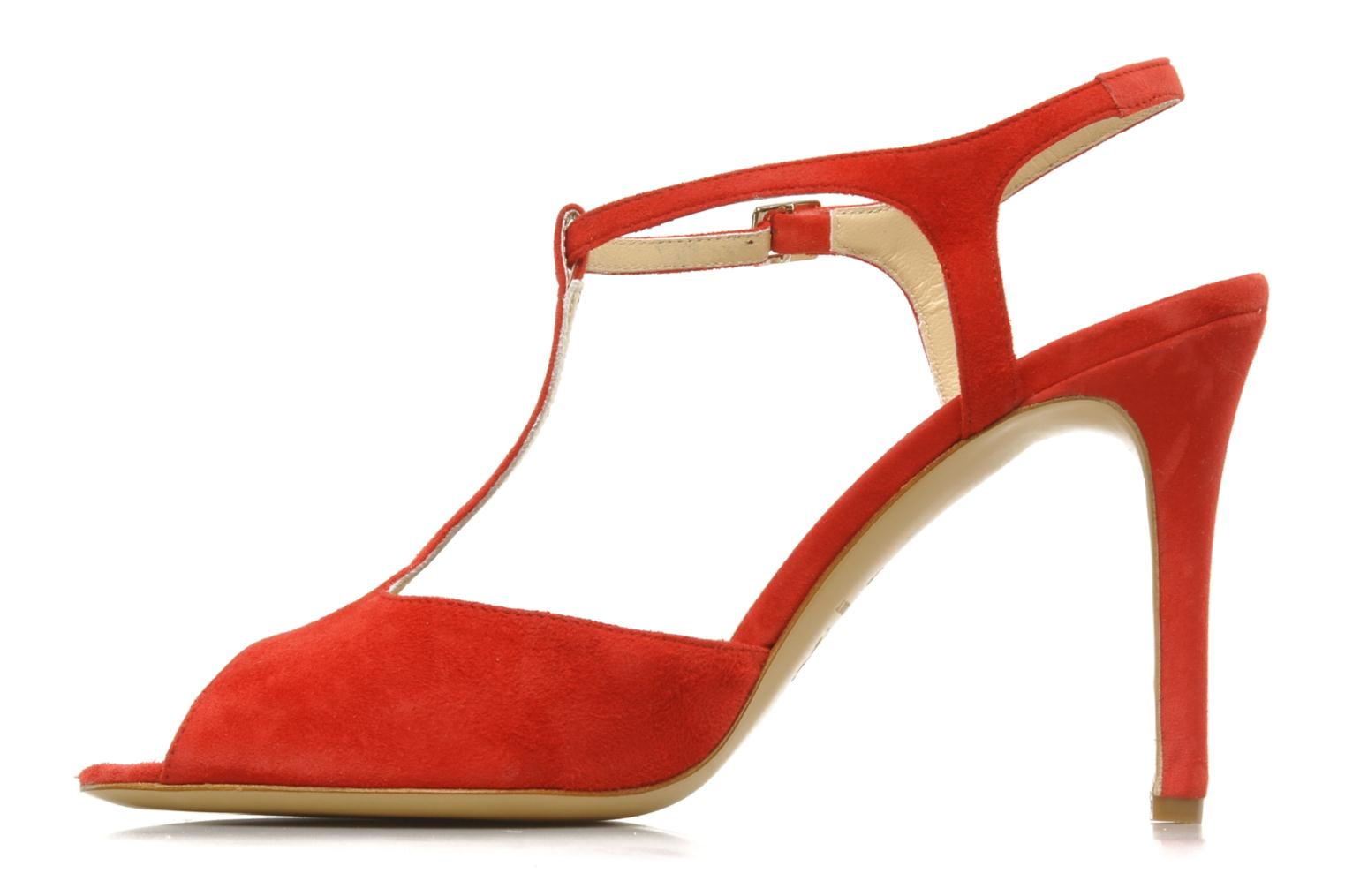 Sandals Georgia Rose Sato Red front view