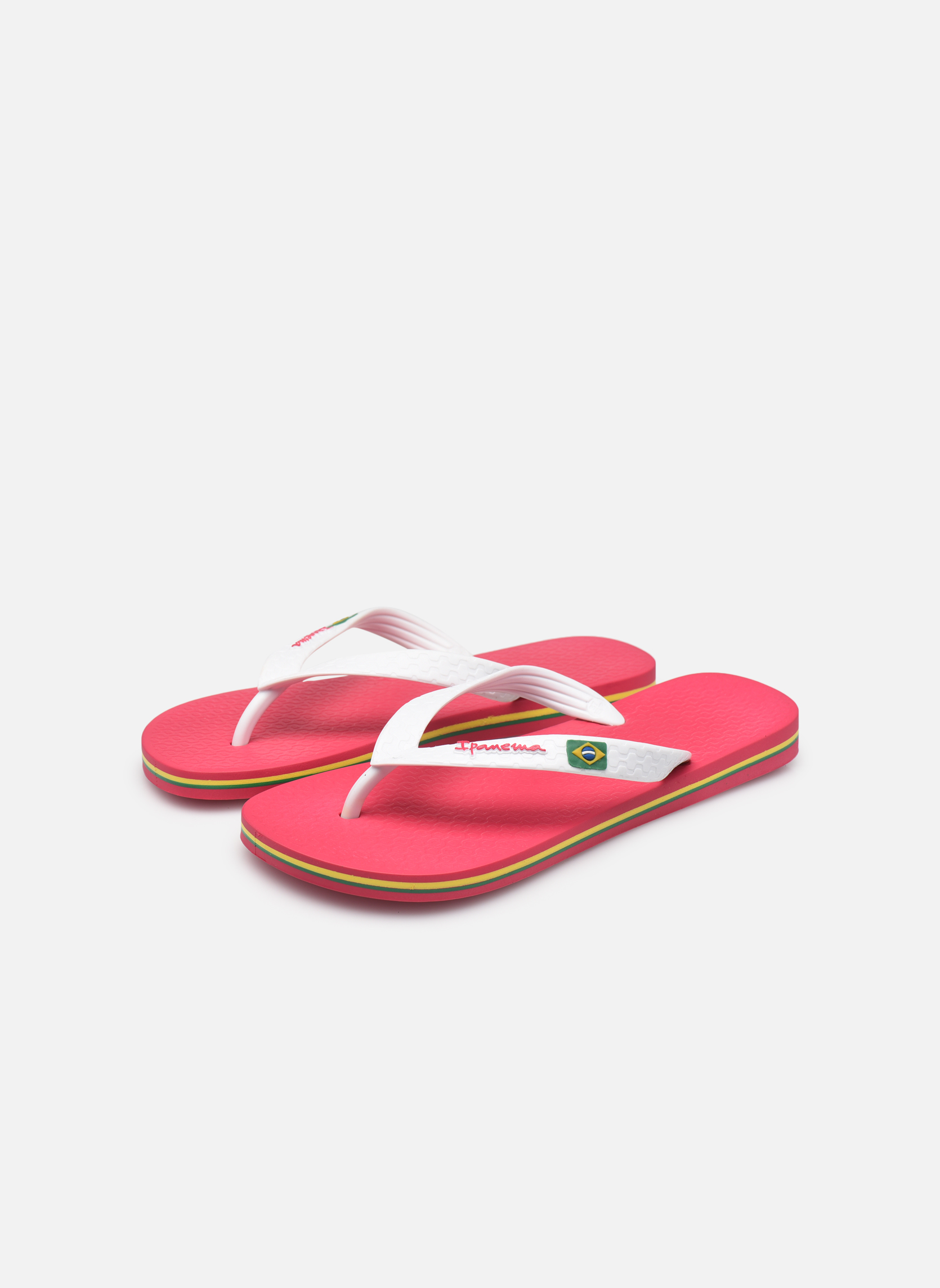 Flip flops Ipanema Classica Brasil II f Pink view from underneath / model view