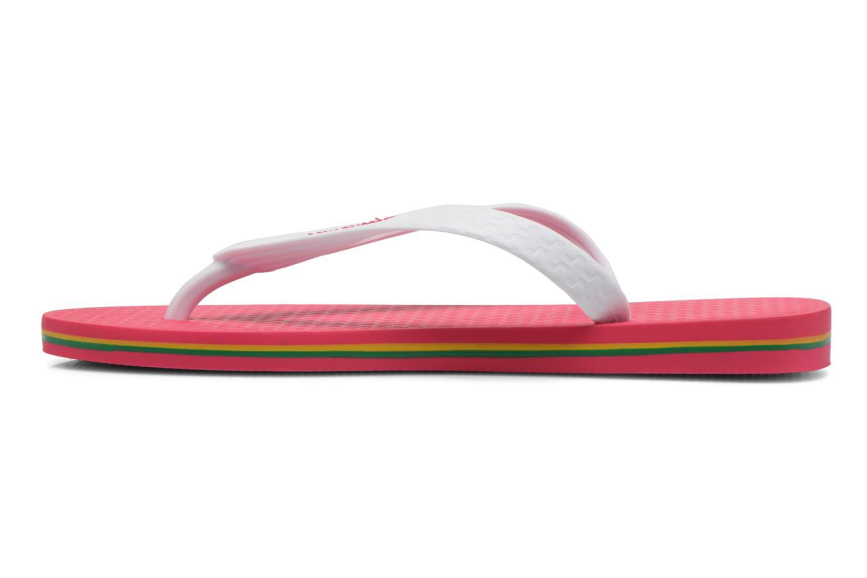 Zehensandalen Ipanema Classica Brasil II f rosa ansicht von vorne