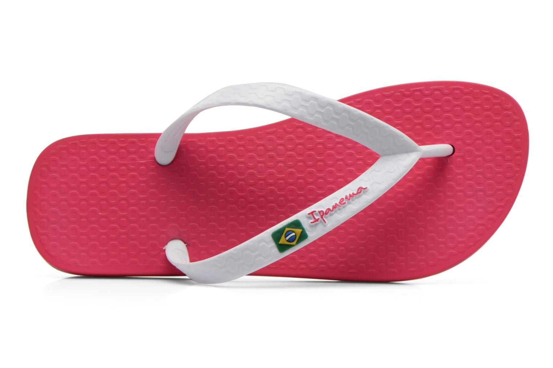 Zehensandalen Ipanema Classica Brasil II f rosa ansicht von links