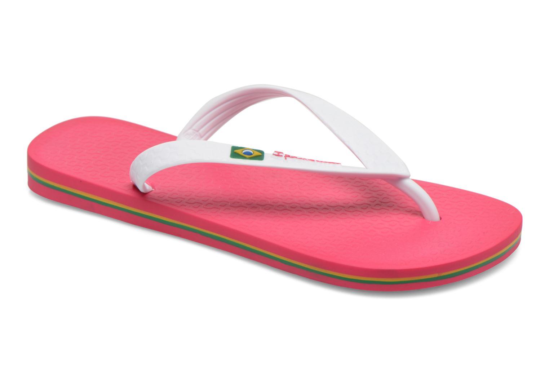 Flip flops Ipanema Classica Brasil II f Pink detailed view/ Pair view