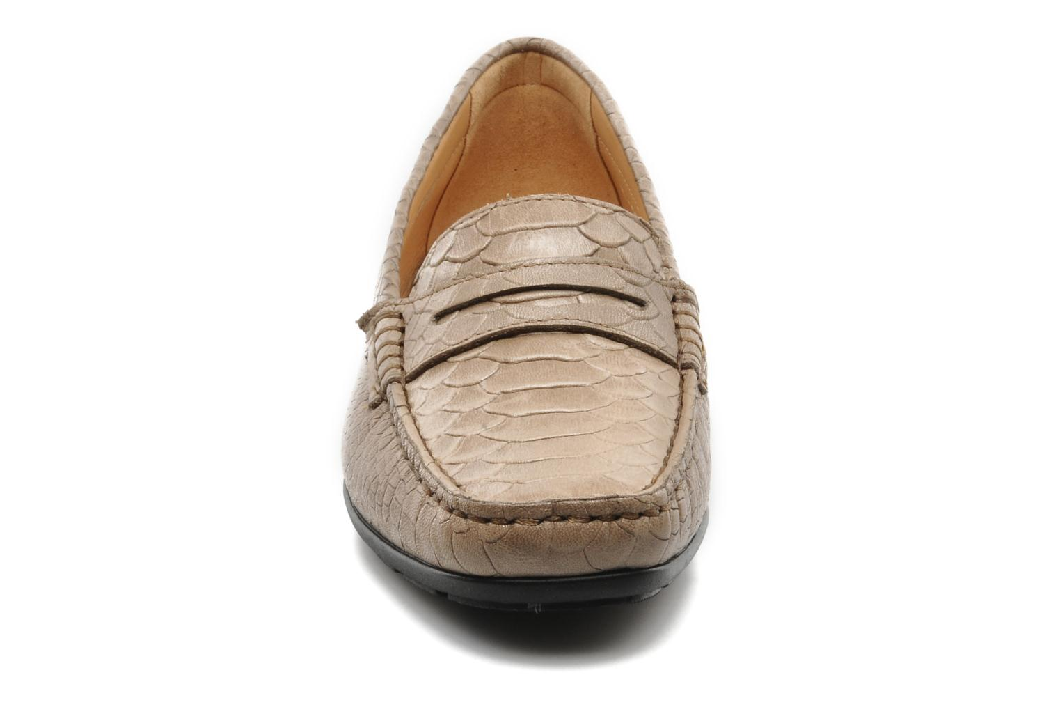 Loafers Mephisto Ninon Brown model view