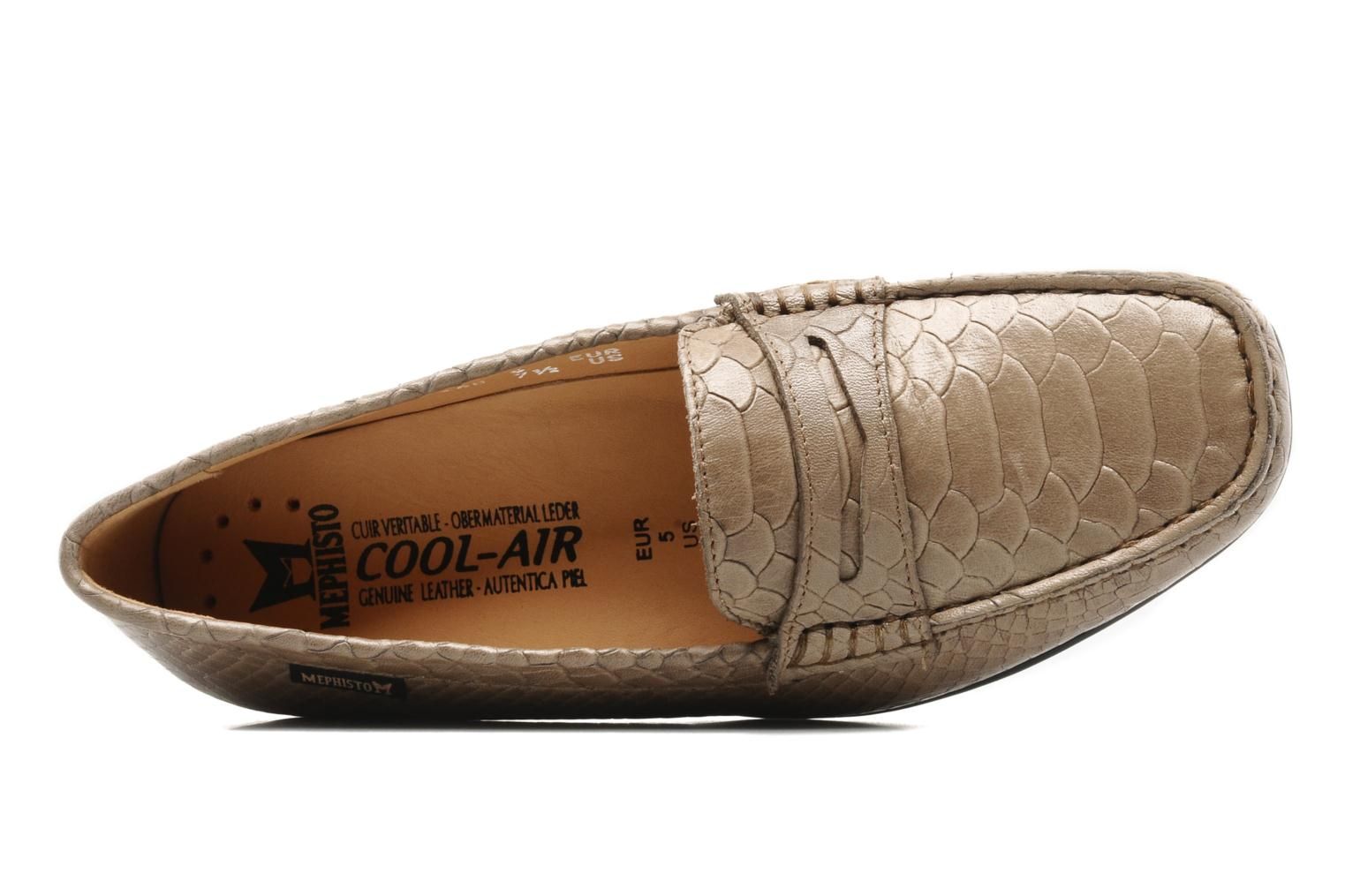 Loafers Mephisto Ninon Brown view from the left