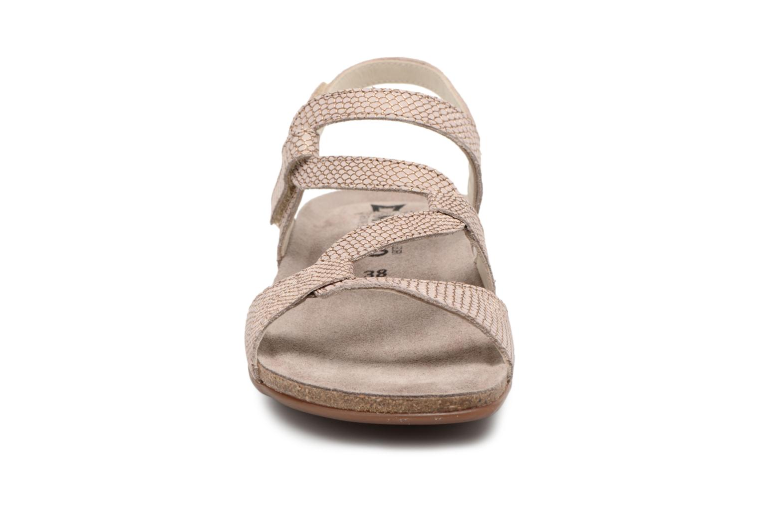 Sandals Mephisto Adelie Brown model view