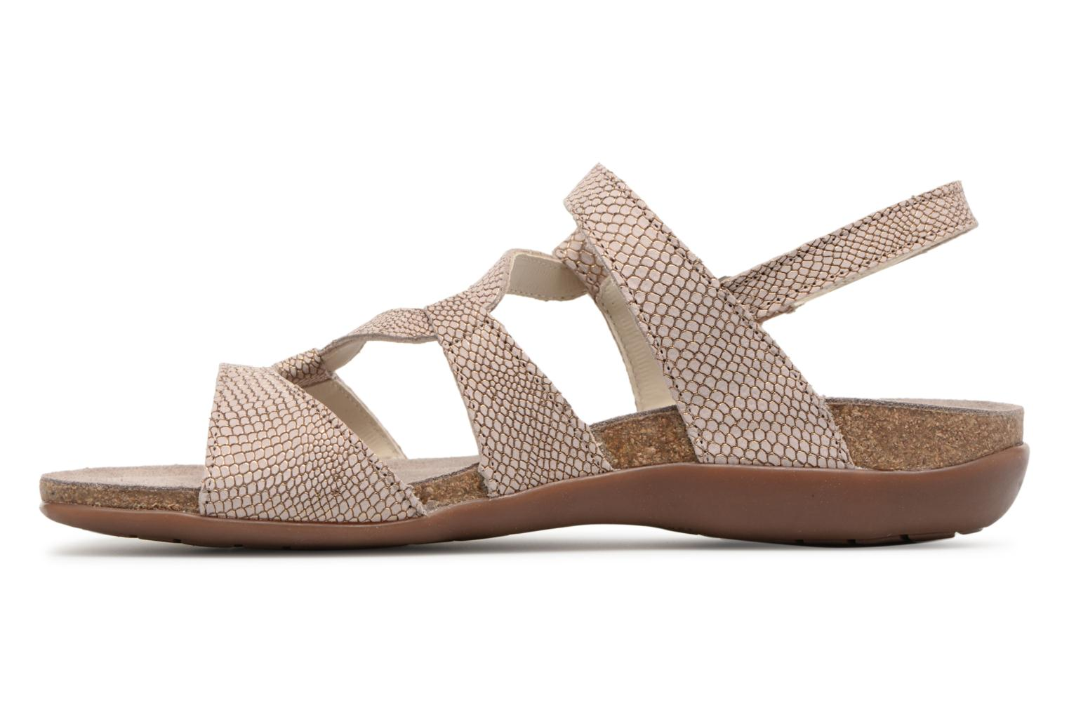 Sandals Mephisto Adelie Brown front view