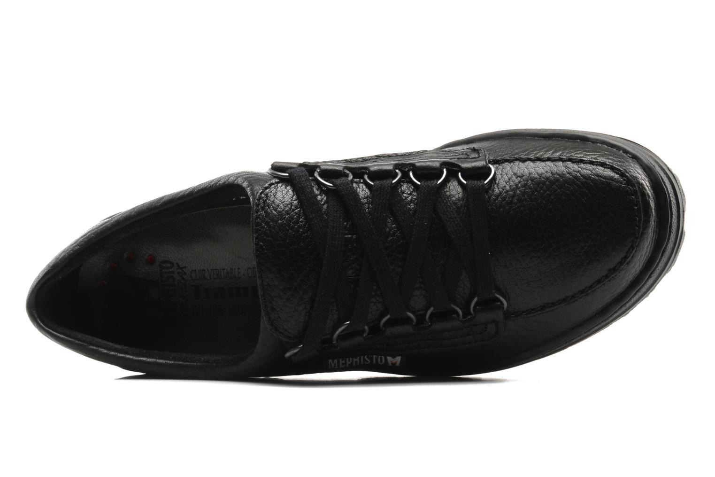 Chaussures à lacets Mephisto Wanda Noir vue gauche