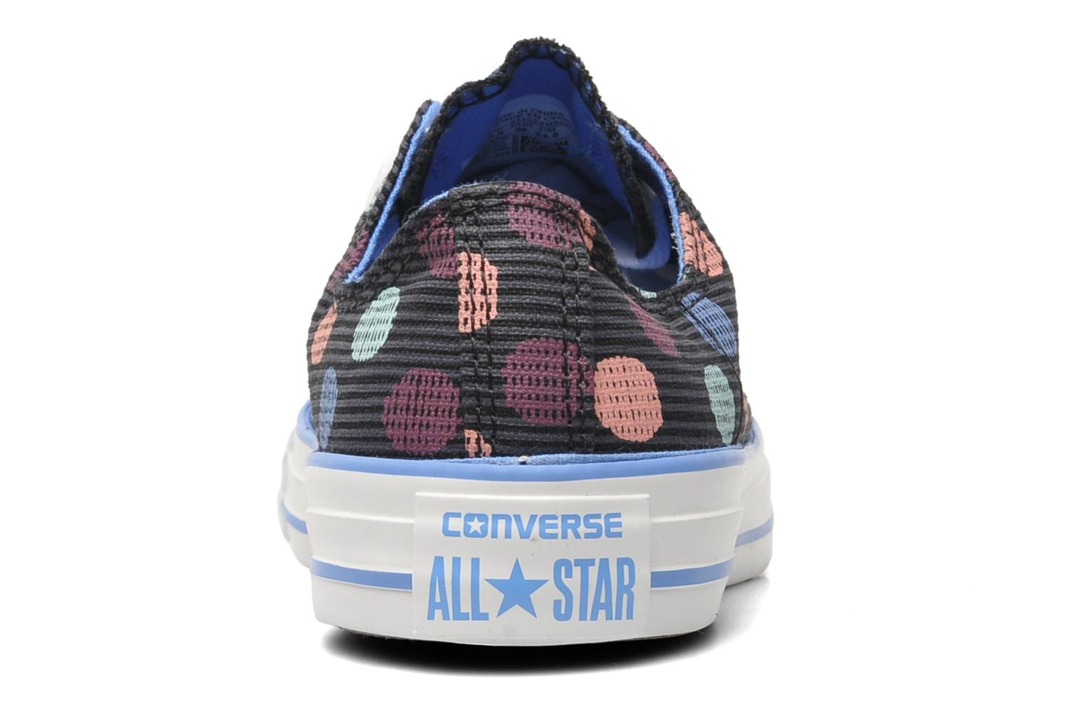 Trainers Converse Chuck Taylor All Star Polka Dot Ox W Multicolor view from the right